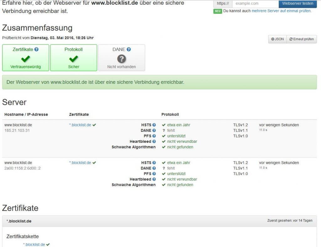 blocklist.de-ssltools